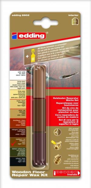 Edding 8902_Wooden floor repair wax kit
